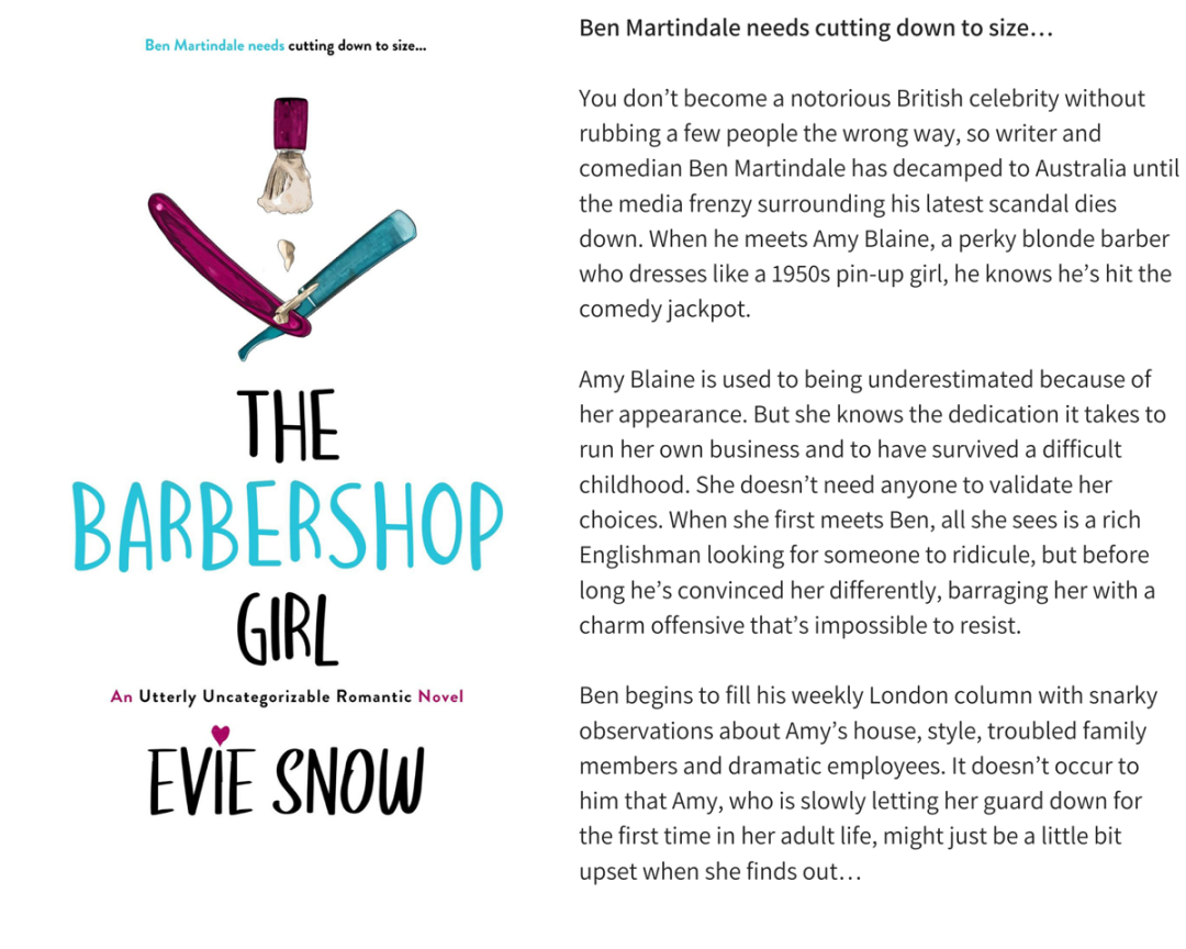 The Barbershop Girl Graphic