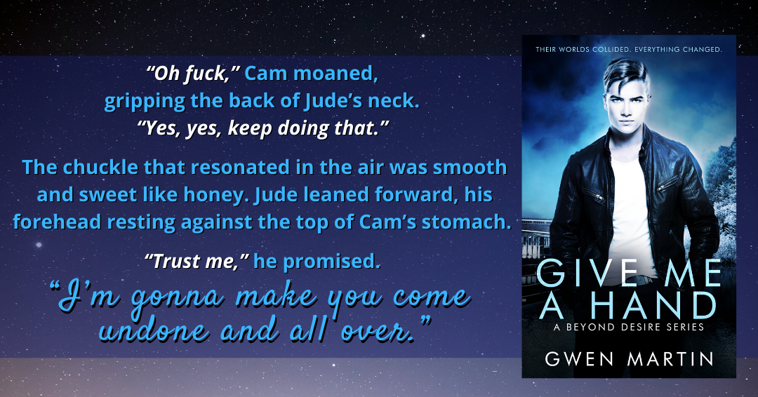 Promos for Give Me A Hand by Gwen Martin